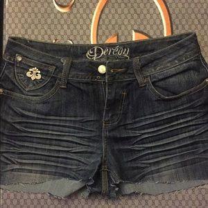 Dereon Denim cut off Shorts
